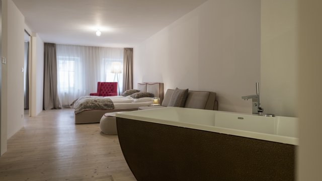 La diffusa gius la residenza for Boutique hotel kaltern