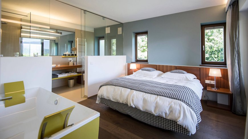 Ihre suite im designhotel gius in kaltern for Design hotel kaltern